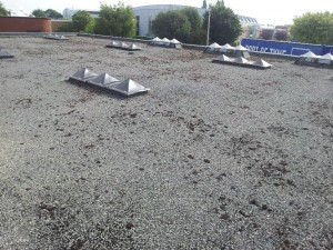 Watertite roof before