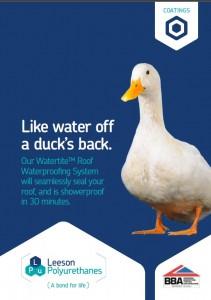 Watertite duck